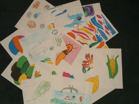 LARKRISE SCHOOL STUDENTS' ARTWORK(1)
